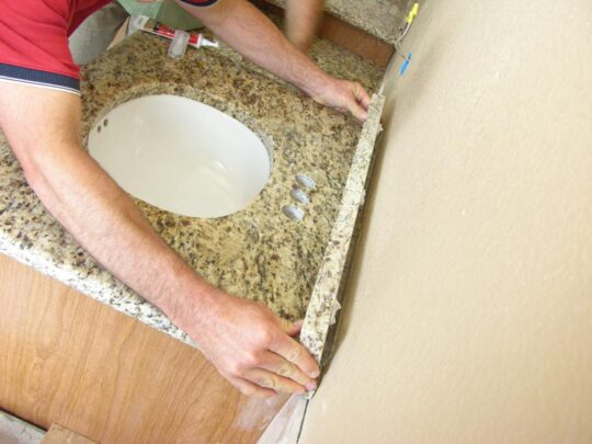 Bathroom Countertop Replacement & Installation-Fort Myers Home Remodeling Team-We do kitchen & bath remodeling, home renovations, custom lighting, custom cabinet installation, cabinet refacing and refinishing, outdoor kitchens, commercial kitchen, countertops and more