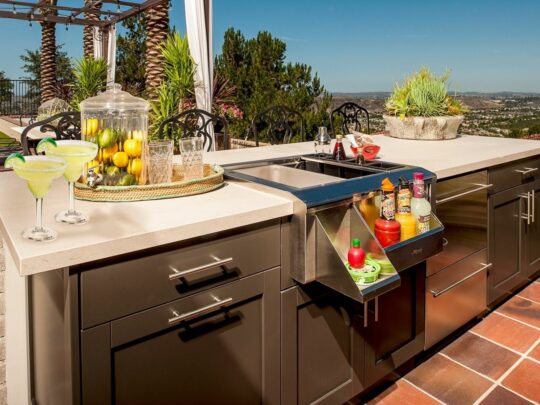 Outdoor Kitchens-Fort Myers Home Remodeling Team-We do kitchen & bath remodeling, home renovations, custom lighting, custom cabinet installation, cabinet refacing and refinishing, outdoor kitchens, commercial kitchen, countertops and more