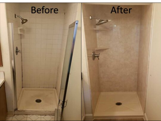 Shower Remodeling-Fort Myers Home Remodeling Team-We do kitchen & bath remodeling, home renovations, custom lighting, custom cabinet installation, cabinet refacing and refinishing, outdoor kitchens, commercial kitchen, countertops and more