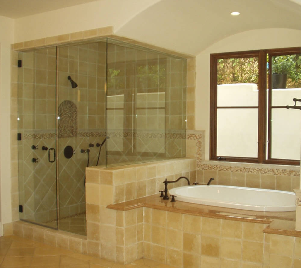 Shower door and enclosures-Fort Myers Home Remodeling Team-We do kitchen & bath remodeling, home renovations, custom lighting, custom cabinet installation, cabinet refacing and refinishing, outdoor kitchens, commercial kitchen, countertops and more